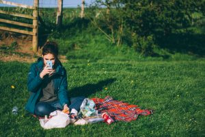 One way to ensure a digital detox is to go outside! (But maybe put down the phone.)